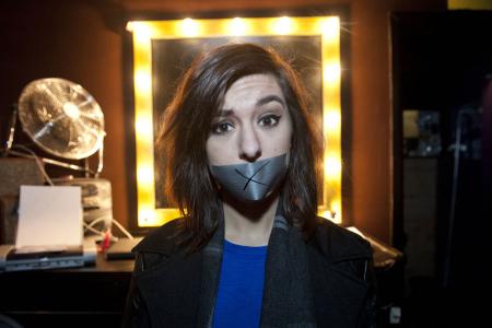 Creat vaiensi YouTube- ja The Voice -tähti Christina Grimmien Helsingin Nosturissa 26. tammikuuta 2014. (Kuva: Jussi Helttunen)
