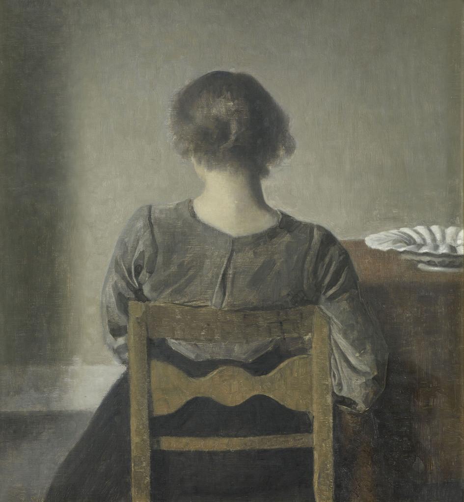 Vilhelm Hammershøi: Lepo (1905). Kuva: Grand Palais / Martine Beck-Coppola.