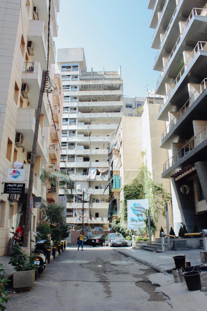 Nämä Hamran kulmat olivat ennen pahamaineisinta Beirutia.