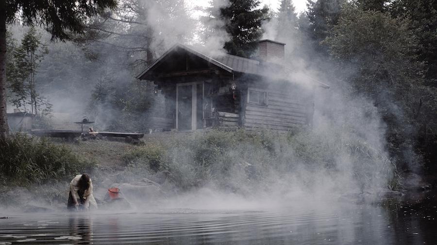 Korpimetsän yleinen sauna.