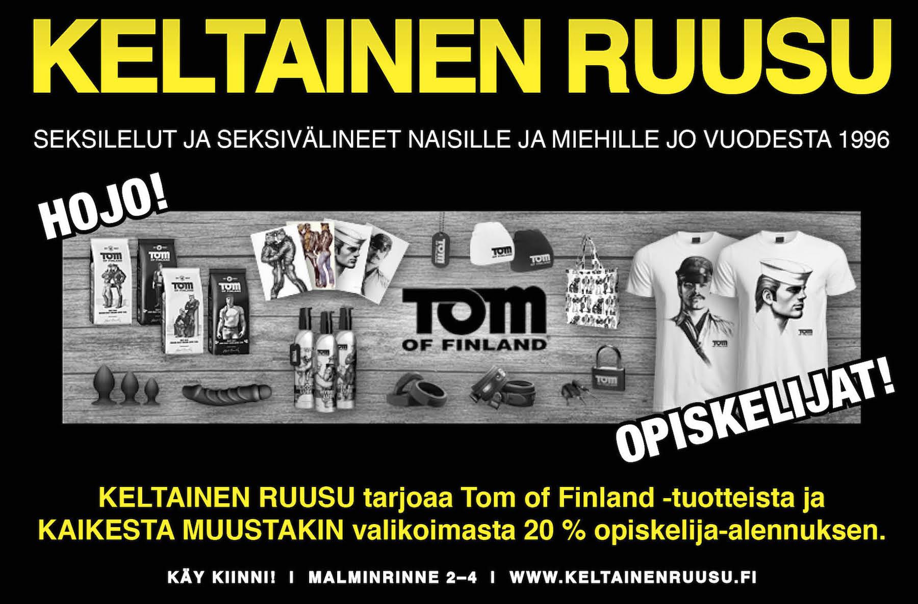 tom_of_finland_keltainen_ruusu